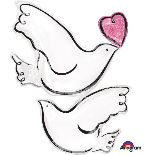 SuperShape Wedding Doves